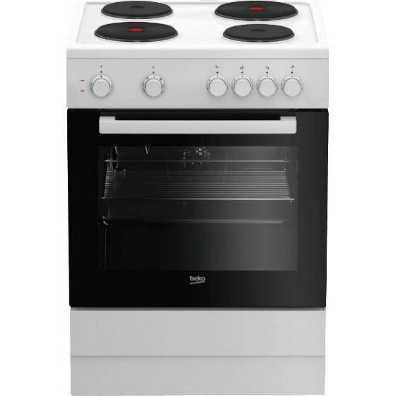Beko FSM 66001 GW  8 Λειτουργίες Μαγειρέματος